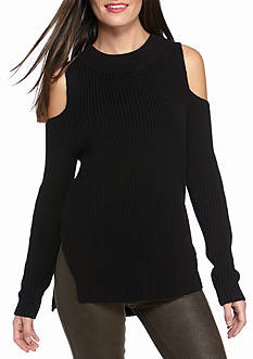 French Connection Cold Shoulder Sweater