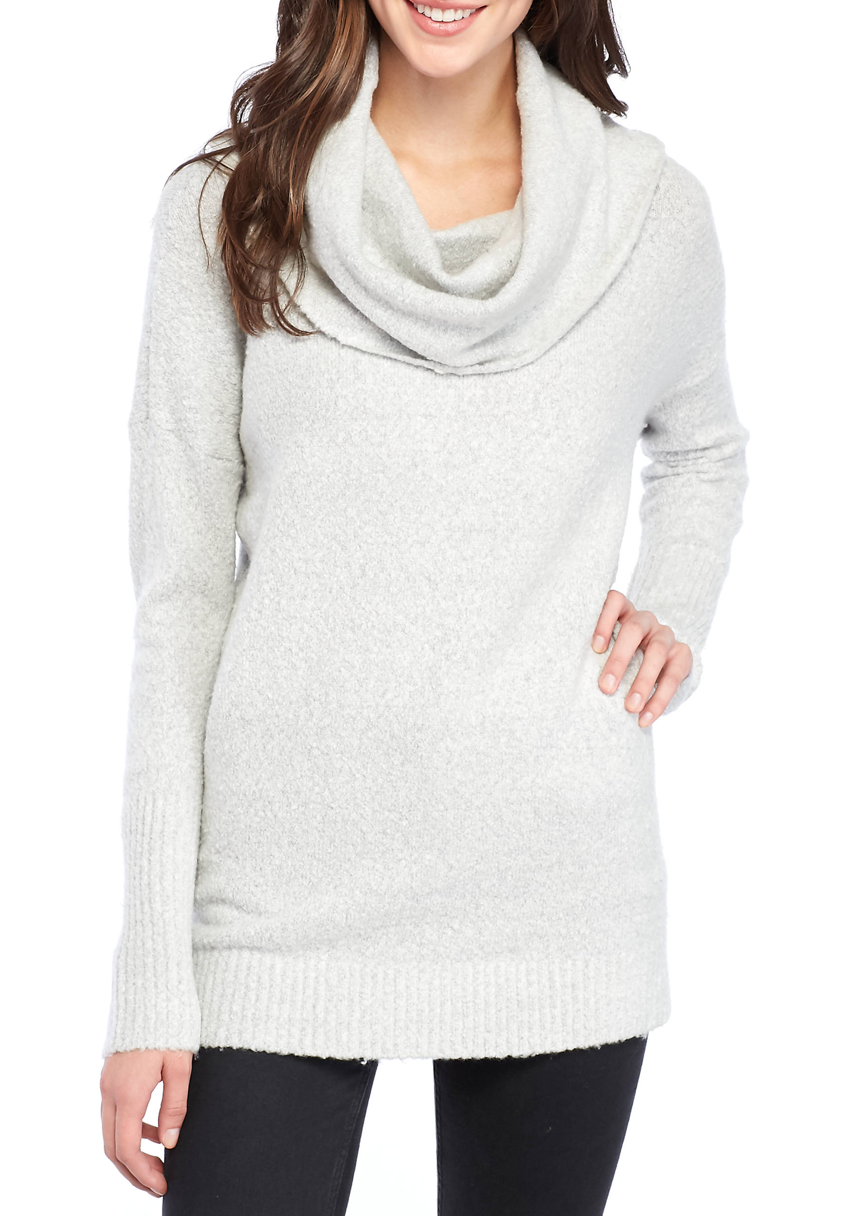 French Connection Weekend Flossy Cowl Neck Sweater | belk
