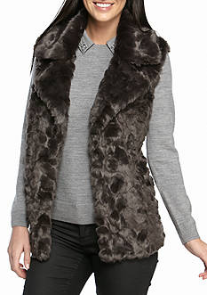 French Connection Nariko Faux Fur Vest