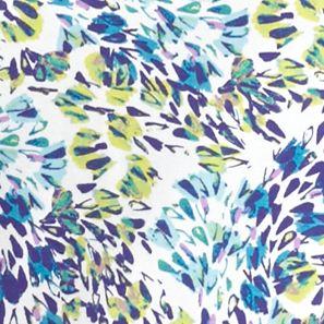 Kim Rogers Petites Sale: Turq/Purple Kim Rogers Petite Floral Breeze Print Knit Top