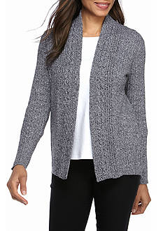 Kim Rogers Semi Combed Cotton Crew Sweater