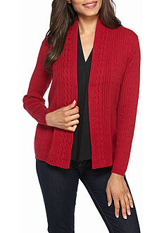 Kim Rogers Semi Combed Cotton Crew Sweater