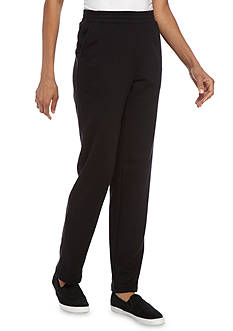 Kim Rogers French Terry Straight Leg Pants