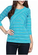 Kim Rogers® Petite Three-quarter Sleeve