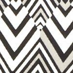 Essentials: Grey/Black Kim Rogers Petite Square Neck Chevron Knit Top