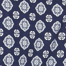 Petite Tops: Knit Tops: Blue Kim Rogers Petite 3/4 Sleeve Ballet Neck Tunic