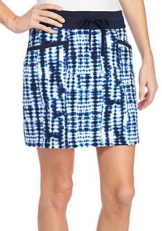 Kim Rogers Petite Knit Drawstring Skort