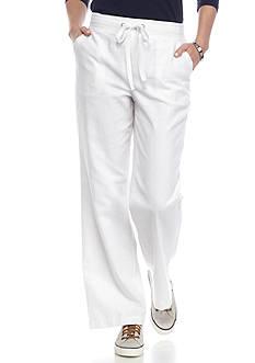 Kim Rogers Petite Size Linen Beach Pants