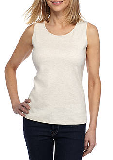 Kim Rogers Petite Scoop Neck Tank