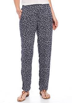 Kim Rogers Petite Size Confetti Crinkle Pants