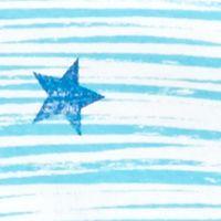 Kim Rogers Petites Sale: Turquoise/Navy Kim Rogers Petite Stars and Stripes Top