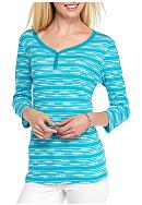 Kim Rogers® Three Quarter Sleeve Sweetheart