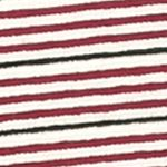 Women: Tunics Sale: Pink/Black/Ivory Kim Rogers Three Quarter Sleeve Boat Neck Stripe Tunic
