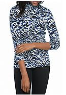 Kim Rogers® Long Sleeve Bio Mock Neck