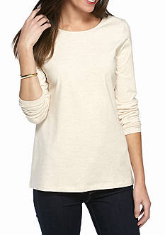 Kim Rogers Gray Long Sleeve Shirt