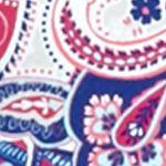 Women: Tees Sale: Blue Kim Rogers Paisley Long Sleeve Shirt