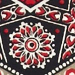 Kim Rogers Women Sale: Black/Red Kim Rogers Woodstock Chevron Top