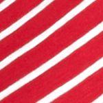Tan/khaki Womens Tops: Red Kim Rogers Three-Quarter Lace-Up Stripe Blouse