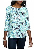 Kim Rogers® Seam Front Top