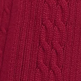Kim Rogers Sweaters: Sangria Kim Rogers Open Cardigan Cable Solid Top