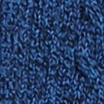 Kim Rogers Sweaters: Blue/Black Kim Rogers Cable Cardigan Two Color Marled Sweater