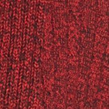 Women: Cardigans & Sweaters Sale: Red/Black Kim Rogers Cable Cardigan Two Color Marled Top