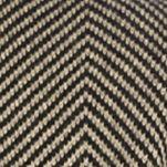 Essentials: Cardigans & Sweaters: Black/Camel Kim Rogers Herringbone Cardigan