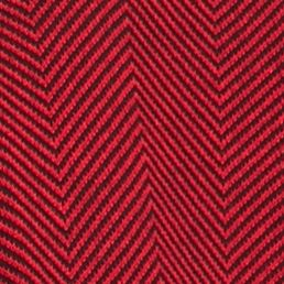 Women: Cardigans & Sweaters Sale: Black/ Red Kim Rogers Herringbone Cardigan
