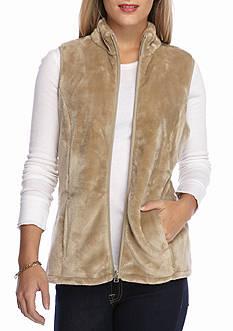 Kim Rogers Bunny Fleece Vest