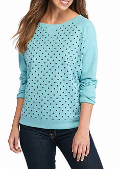 Kim Rogers French Terry Crew Neck Sweatshirt