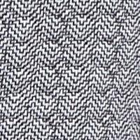Women: Vests Sale: Black/White Kim Rogers Knit Quilted Vest