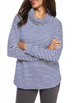 Kim Rogers Long Sleeve Striped Tunic