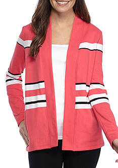 Kim Rogers Jacket With Stripe