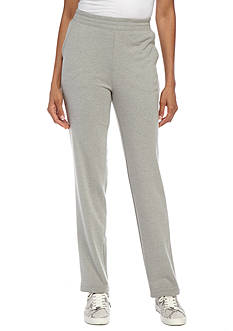 Kim Rogers French Terry Straight Leg Pant