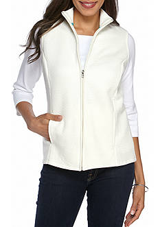 Kim Rogers Knit Quilted Vest