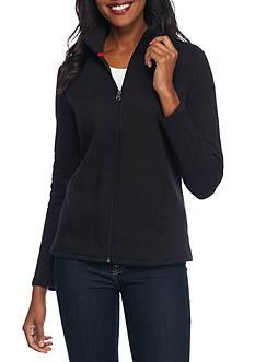 Kim Rogers Knit Chevron Jacket