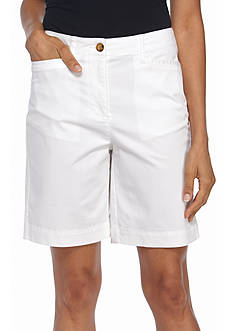 Kim Rogers Long Pocket Bermuda Shorts