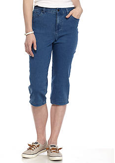 Kim Rogers Denim Stretch Capri