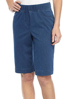 Kim Rogers Knit Pull On Bermuda Short