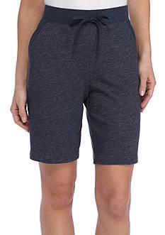 Kim Rogers Knit Bermuda Shorts