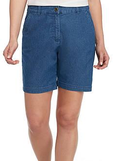 Kim Rogers Pocket Denim Shorts