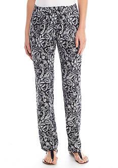 Kim Rogers Soft Paisley Pattern Pants