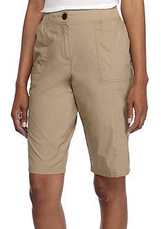 Kim Rogers Solid Bermuda Shorts