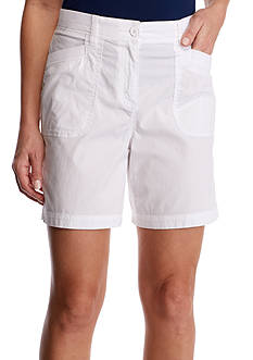 Kim Rogers® Knit Trim Shorts