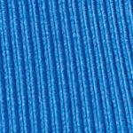 Kim Rogers Sweaters: Boggs Blue Kim Rogers Rib Mock Neck Sweater