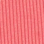 Kim Rogers Sweaters: Pink Sorbet Kim Rogers Rib Mock Neck Sweater