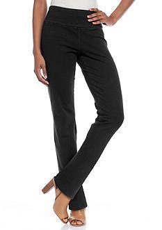 Kim Rogers Petite Short Straight Leg Pull On Pant