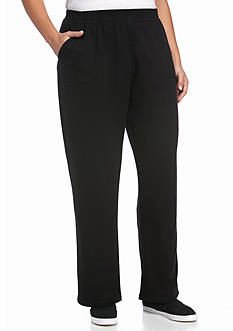 Kim Rogers® Plus Size French Terry Pant