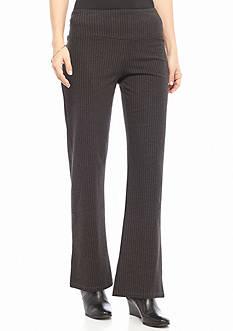Kim Rogers Petite Size Printed Knit Pants