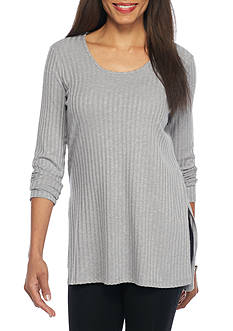Kensie Ribbed Knit Tunic